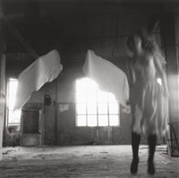 untitled (from angel series, rome) by francesca woodman