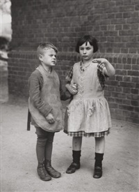 children born blind by august sander