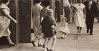 untitled (strolling) by esther bubley