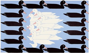 untitled (ducks) by john wesley