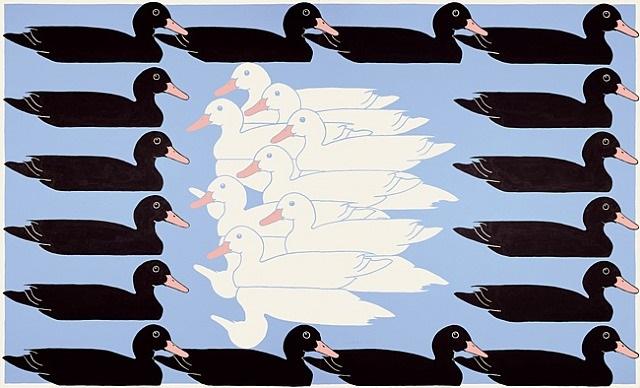 untitled (ducks) by john wesley