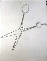 scissors by andy warhol