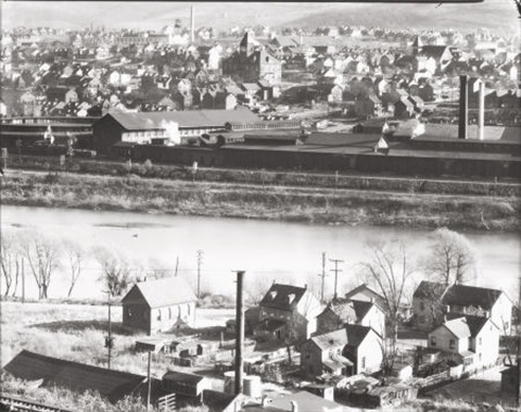 view of easton pennsylvania by walker evans