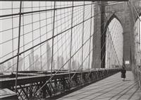 brooklyn bridge, ny by todd webb