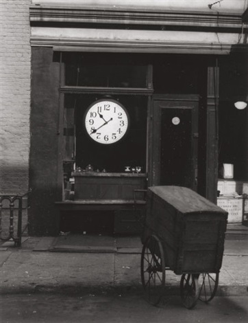 repair shop christopher street new york by berenice abbott