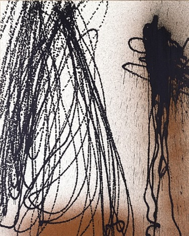 t1989-k38 443-0 by hans hartung