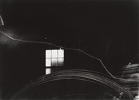 wire, window, and crack, boston by minor white