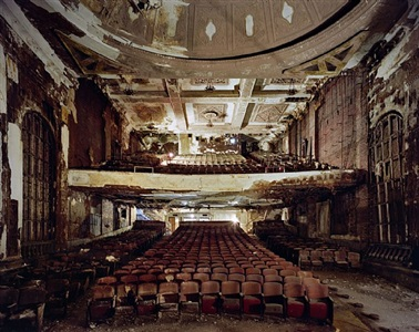 auditorium, steubenville, oh, 2011 by yves marchand and romain meffre