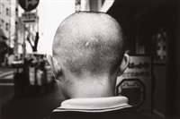 tokyo (back of boy's head) by daido moriyama