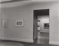whitney museum interior by berenice abbott