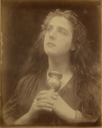 study of a magdalene, july by julia margaret cameron
