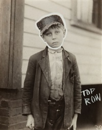 untitled (boy) by lewis wickes hine