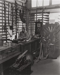 antique dealer on christopher street by berenice abbott