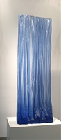 deep blue rain-curtain by mary shaffer