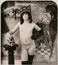green with breasts, berlin by joel-peter witkin