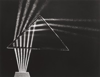 light through prism by berenice abbott