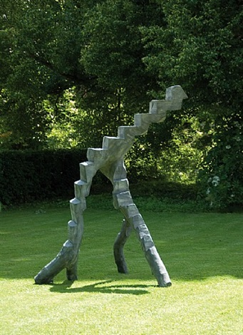 apple ladder by david nash