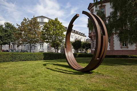 233.5° arc x 4 by bernar venet