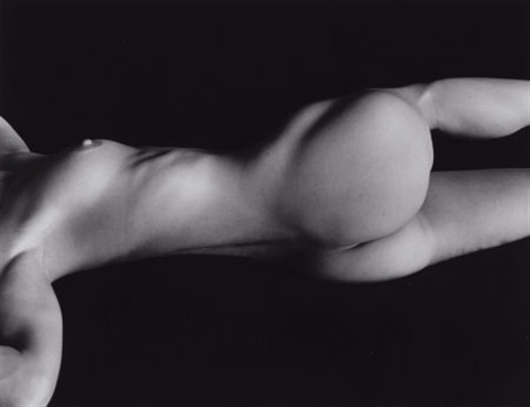 untitled nude by brett weston