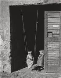 untitled (the swing) by andré kertész