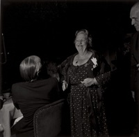 studio 54, tavern on the green (+ russian ball, new york city; 2 works) by larry fink