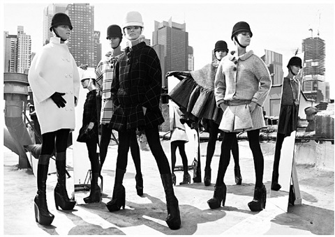 mod fashion by mark seliger