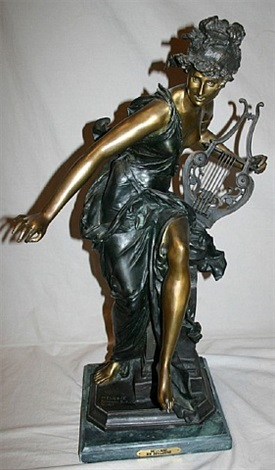 lot no. 55: melodie by albert ernest carrier-belleuse