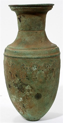 lot no. 1218: etruscan bronze vessel