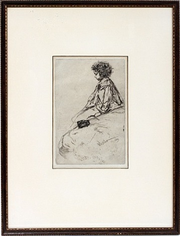 lot no. 2057: bibi lalouette by james abbott mcneill whistler