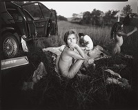 luncheon in the grasses by sally mann