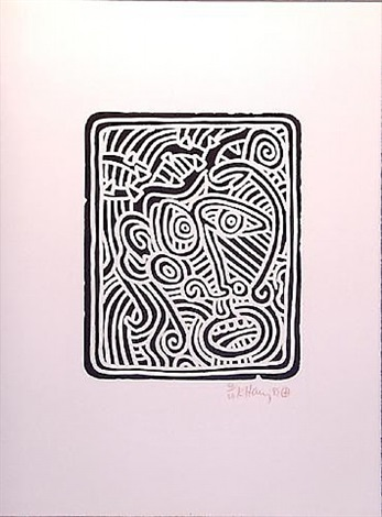 stones 2 by keith haring