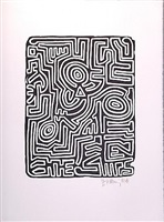 stones 3 by keith haring