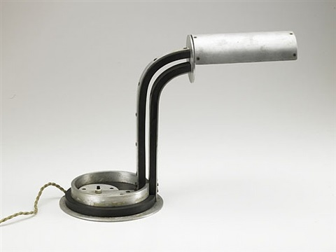 rare adjustable desk lamp by jacques le chevallier and robert koechling