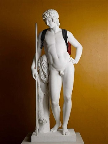 adonis (back pack) by elmgreen & dragset