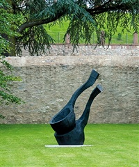 two falling spoons by david nash