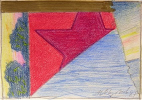 """entwurf zur arbeit """"der 'sonnenuntergang 1"""" by ivan chujkov"""