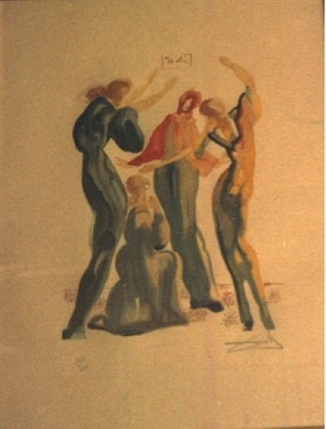 mujeres danse by salvador dalí