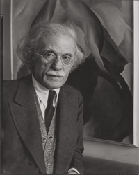 alfred stieglitz at an american place by imogen cunningham