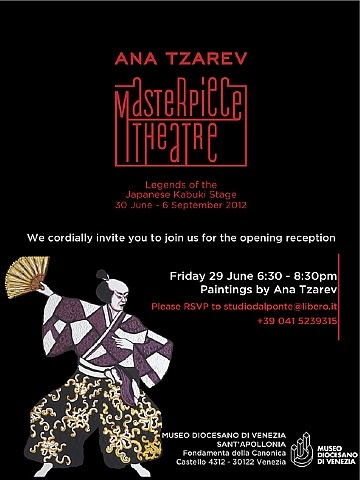 masterpiece theater: legends of the japanese kabuki stage by ana tzarev