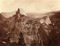 falls of the yosemite (great grizzly bear feet) by eadweard muybridge