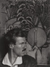 roi partridge, etcher by imogen cunningham