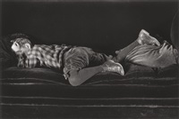neil sleeping by edward weston