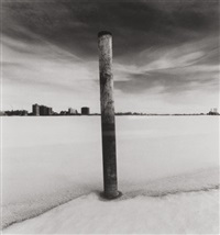 on the edge, belle isle, detroit, michigan, by michael kenna