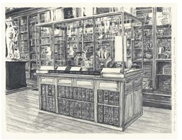 hexen 2039/graphite/john dee's objects, case 20, magic mystery and rites, enlightenment room, british museum, london, england 2006 by suzanne treister