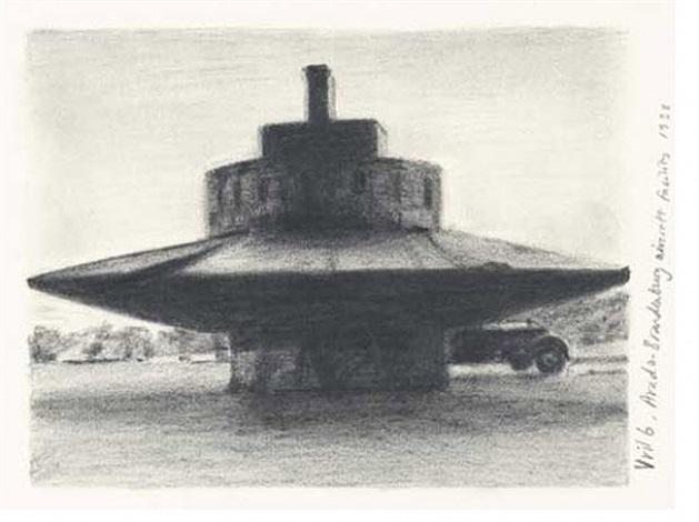 hexen 2039/graphite/vril 6, arado- brandenburg aircraft facility, 1938 by suzanne treister