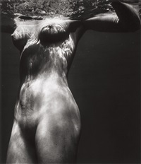 untitled (underwater nude) by brett weston