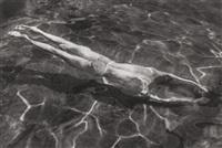 underwater swimmer esztergom by andré kertész