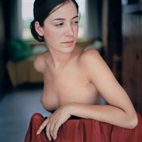 roxane by red towel by mona kuhn