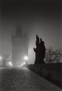 charles bridge, study 4, prague, czechoslovakia by michael kenna
