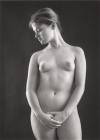 victorian nude by ruth bernhard